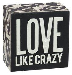 Primitives by Kathy Square Box Sign, 3-Inch, Love Like Crazy Primitives By Kathy http://www.amazon.com/dp/B00DHSC9DI/ref=cm_sw_r_pi_dp_IUOOvb1J7V3FC