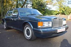 1997 R Rolls Royce Silver Dawn. Finished in Ocean Blue Mica with Magnolia interior piped in Surf Blue, with Surf Blue carpets piped in Magnolia and Walnut veneers. Only 72,000 miles with Full Service History. Known to ourselves for last 5 years. Immaculate condition throughout £26,950 Full Details:  http://hanwells.net/rolls-royce-select/rolls-royce-silver-dawn/1997-r-rolls-royce-silver-dawn-in-ocean-blue-mica-26-950