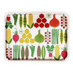 Kristina tray is designed by Lotta Külhorn for the Swedish brand Koloni Stockholm.