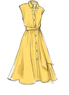 Dress Design Drawing, Dress Design Sketches, Dress Drawing, Fashion Design Drawings, Drawing Clothes, Fashion Sketches, Fashion Illustrations, Design Illustrations, Vogue Dress Patterns