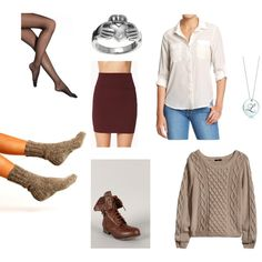 """""""Cozy Date Night Outfit"""" by cara-weidinger on Polyvore"""