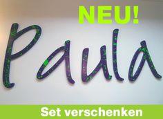 Wandtattoo, Holzbuchstaben & Sets: selbst gestalten von PAULSBECK Buchstaben, Dekoration & Geschenke auf DaWanda.com