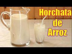 Como Hacer una Rica Horchata de Arroz | Agua Refrescante | Casayfamiliatv ** Casayfamiliatv.com