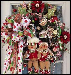 Wreaths: Decorative Door Wreaths, Luxury Christmas Wreaths - Luxury Christmas Wreaths - Maplesville, AL