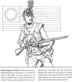 All Things John Adams Coloring Pages Deborah Sampson And Molly Pitcher