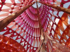 Light Well, Color Me Beautiful, Textile Jewelry, Event Decor, Installation Art, Three Dimensional, Event Design, Color Patterns, Special Events
