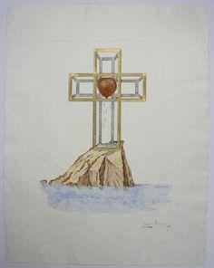 Risultati immagini per salvador dali cross pendant