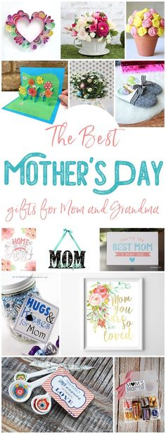 The BEST Easy DIY Mother's Day Gifts and Treats Ideas – Holiday Craft Activity Projects, Free Printables, Kids Paper Crafts and Favorite Brunch Desserts and Party Beverage Recipes for Moms and Grandmas - Dreaming in DIY #mothersdaygifts #mothersdaygiftideas #diymothersday #diymothersdaygifts #giftsformom #giftsforgrandma