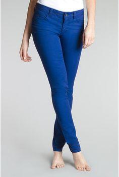 "Womens Long Tall Sally Camden Skinny Jeans Size 10 Electric Blue It's Denim 36"" #LongTallSally #ItsDenimCamdenSkinnyJeansColorElectricBlue5pocketwesternstylingbackpocketstitchingUKSize14EUSize42"