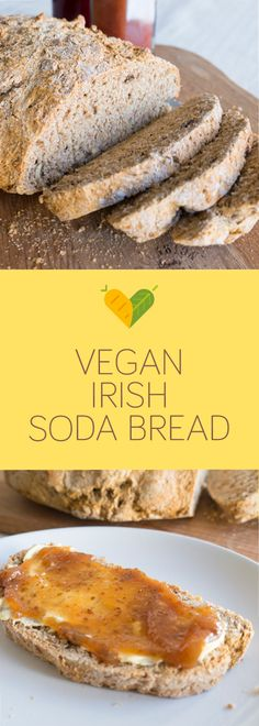 I love bread and making your own vegan dairy-free Irish soda bread is the ultimate satisfaction.