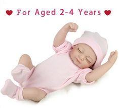 Reborn Newborn Baby Realike Doll Handmade Lifelike Silicone Vinyl Weighted Alive Doll for Toddler Gifts 10 Reborn Baby Girl, Reborn Babypuppen, Baby Girl Dolls, Toddler Dolls, Reborn Baby Dolls, Toddler Gifts, Girl Toddler, Reborn Silicone, Silicone Baby Dolls