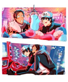 Arcade 2 Omg the look of pure joy on Lance's face is too muchhh