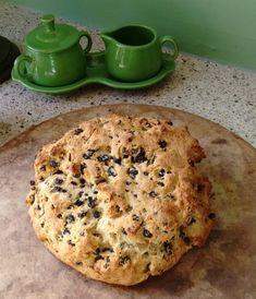 Delicious gluten-free Irish Soda Bread...with dairy-free and sugar-free adaptations!