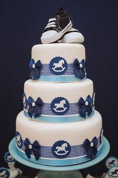 bolos para cha de bebe - Pesquisa Google