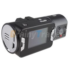 NEW HD 720P Dual Lens Dashboard Car vehicle Camera Audio Video Recorder DVR CAM