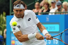 David Ferrer (ESP) Second Round AEGON Open Nottingham Copyright B&O Press Photo
