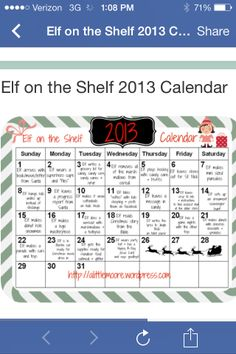 Elf on the shelf Ideas -@Amanda Snelson Snelson Scott and @Heather Creswell Creswell Scott Oleniacz