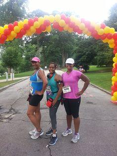HBCU 5K, Grant Park, Atlanta, GA.  My first race since 2011 and kickoff to my half marathon training.  Hope to run Marathon Bahamas January 2013!