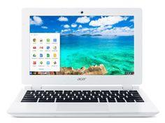 Acer Aspire CB3-111 11.6-inch Chromebook (White) - (Intel Celeron N2830 2.16GHz, 2GB RAM, 16GB eMMC, Integrated Graphics, Google Chrome)
