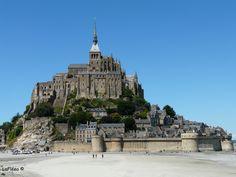 Mont St Michel a Marée basse