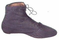Regency shoe, no date given
