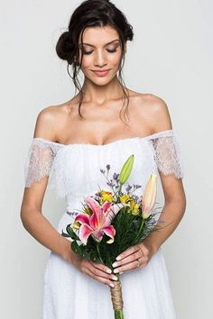 boho chic wedding dress/ bohemian wedding dress/ beach wedding