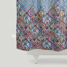 Moroccan Shower Curtain   World Market