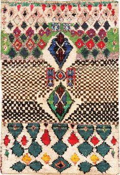 boucherouite rug via candypingpong