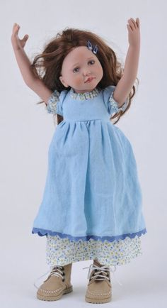 Zwergnase Junior Doll Katelin From 2009 Collection NEW