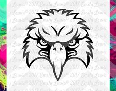 eagle mascot svg - eagle svg files - eagle decals - eagle svg cuts - eagle t-shirt svgs - eagle mascot decal - eagle cut files - eagle svgs - Edit Listing - Etsy