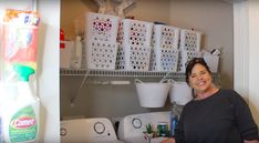 Woman Transforms Tiny Laundry Room With Dollar Tree Products, and We're Out of Excuses