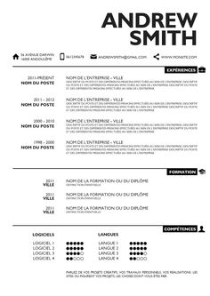 Another cool resume design! | Resumes That Don't Suck | Pinterest