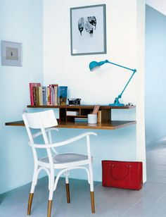 really simple home office