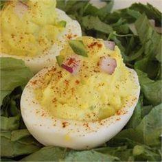 Deviled Eggs - Mexican Devils! - Allrecipes.com