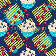 Imagens, fotos stock e vetores similares de Cute cartoon pirate chick holding wood sword in pirate costume on polka dot background illustration vector. Vektor Muster, Polka Dot Background, Cupcakes, Fresh, Rug Making, Cute Cartoon, Surface Design, Blueberry, Berries