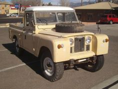 1968 Land Rover Series IIA Pick-Up