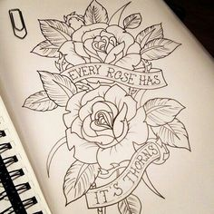 rose and heart tattoo designs - Google Search