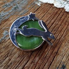 jade rabbit and moon brooch Jade Rabbit, Mad, Campaign, Dragon, Brooch, Sculpture, Accessories, Brooches, Dragons