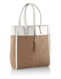 ESCADA Color Blocked Shopper