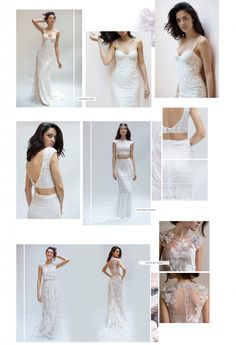 Lookbook for Wedding Gowns and Dresses