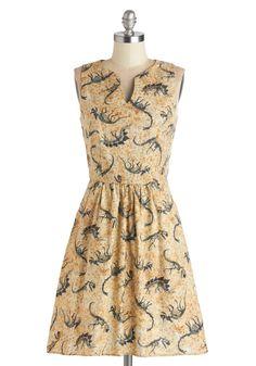 Dino Bones About It Dress, #ModCloth