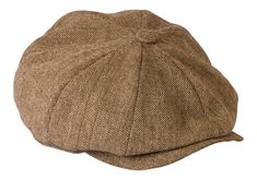 225a152565df0 Peaky Blinders Hat  Shelby  Oatmeal Brown Tweed Lightweight Summer Cloth Cap  By Gamble