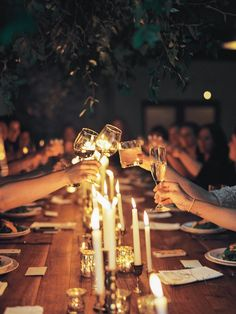 Amy Osaba Events Flower Workshop #installation #dinnerparty #intimate  #candlelight #cheers