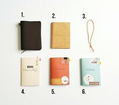 Traveler's Notebook Passport Size Planner Setup: Seaweed Kisses