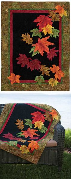AUTUMN SPLENDOR QUILT PATTERN