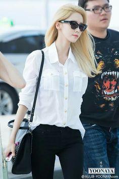 #Yoona #Blonde #150515