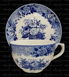 Spode Blue Room Collection, this reminds me of dishes Mama had while I was growing up. However, she more than likely had a set that came in Clothes Detergent of something.