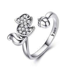 Verlobungsringe Streng Mode Elegant Original 925 Sterling Silber Ringe Für Frauen Dazzling Blume Ring 1 Karat Zirkon Anniversary Verkauf Bijoux