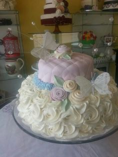 Butterfly cake by Care