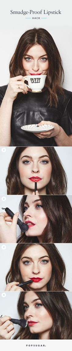 The Simple 4-Step Trick to Make Your Lipstick Last No Matter What
